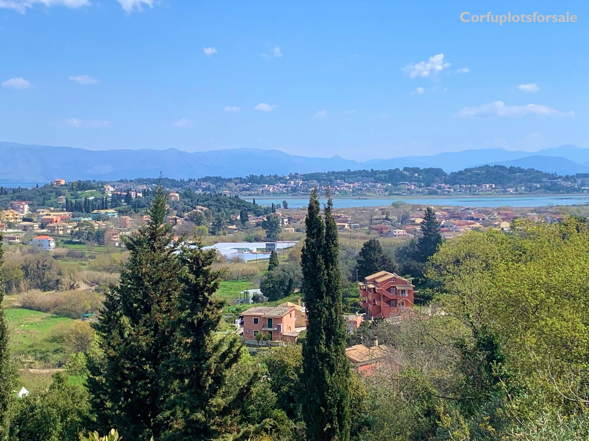 Property with amazing view to Corfu City