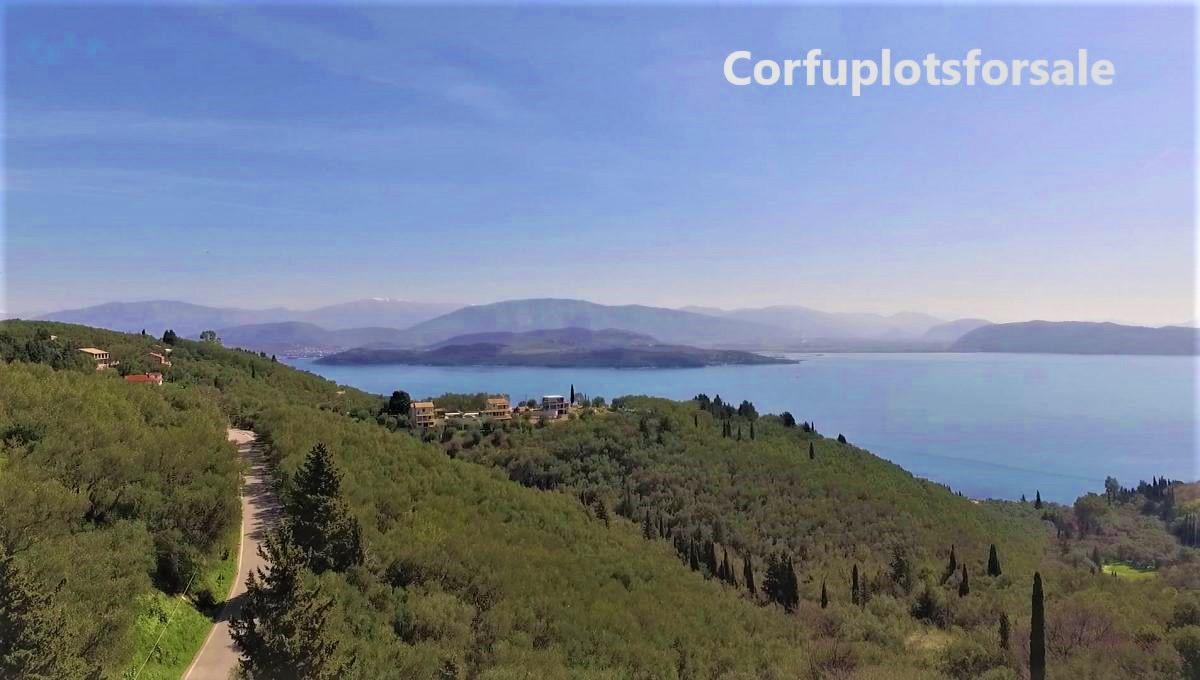Land with old olive trees – Sinies – North East Corfu