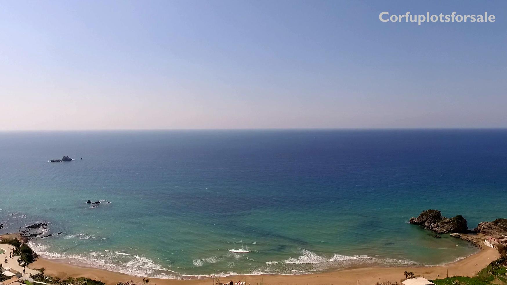 Best view to sandy beach of Kontogialos – 2 min drive