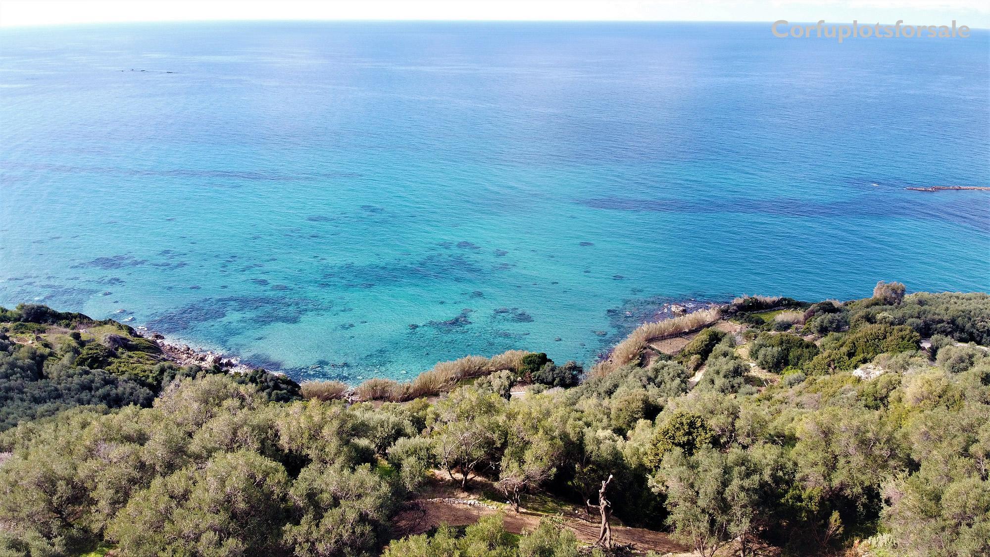 Wonderful plot close to Skala Paramona bay