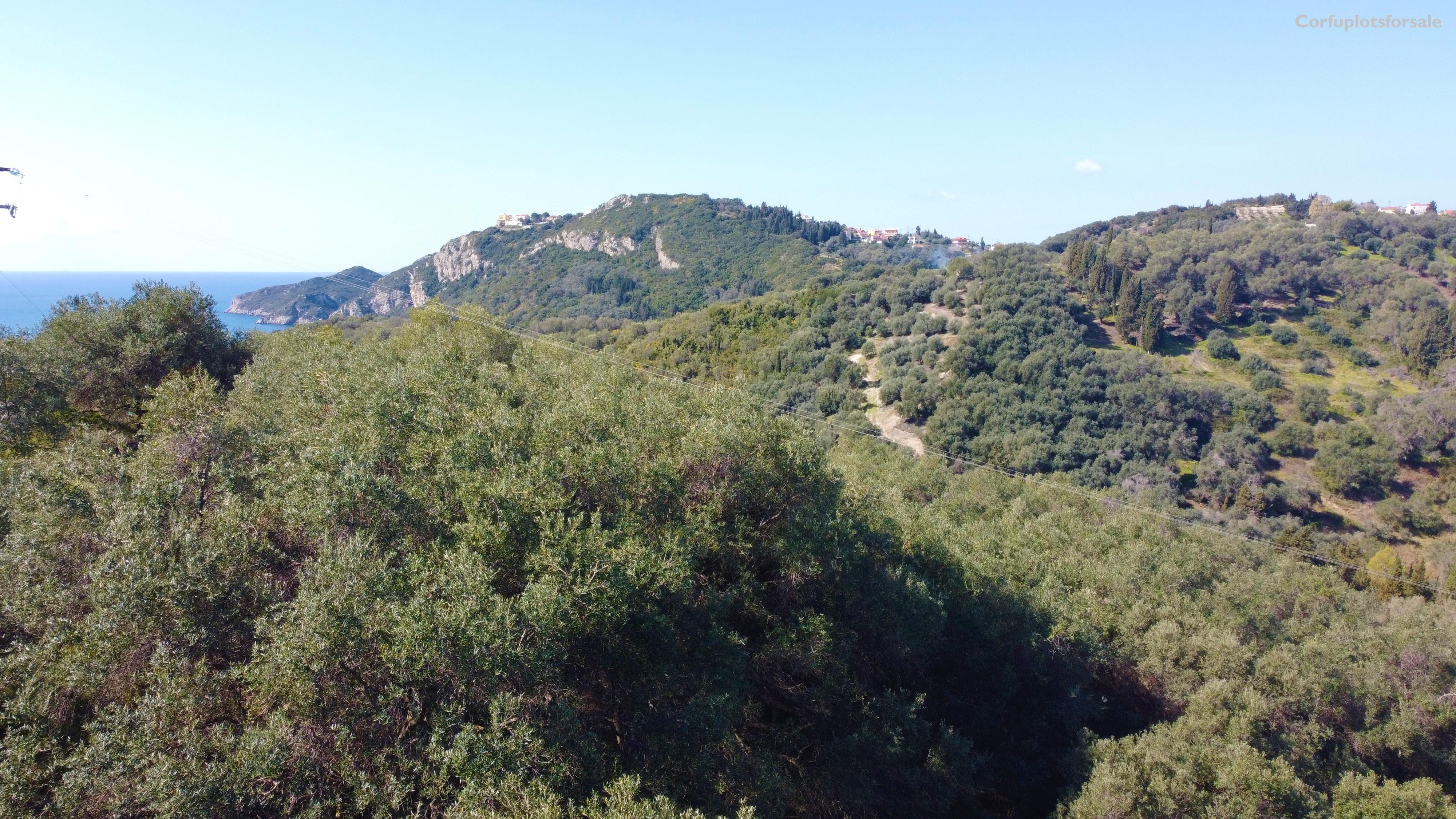 750m from Agios Georgios Pagon beach