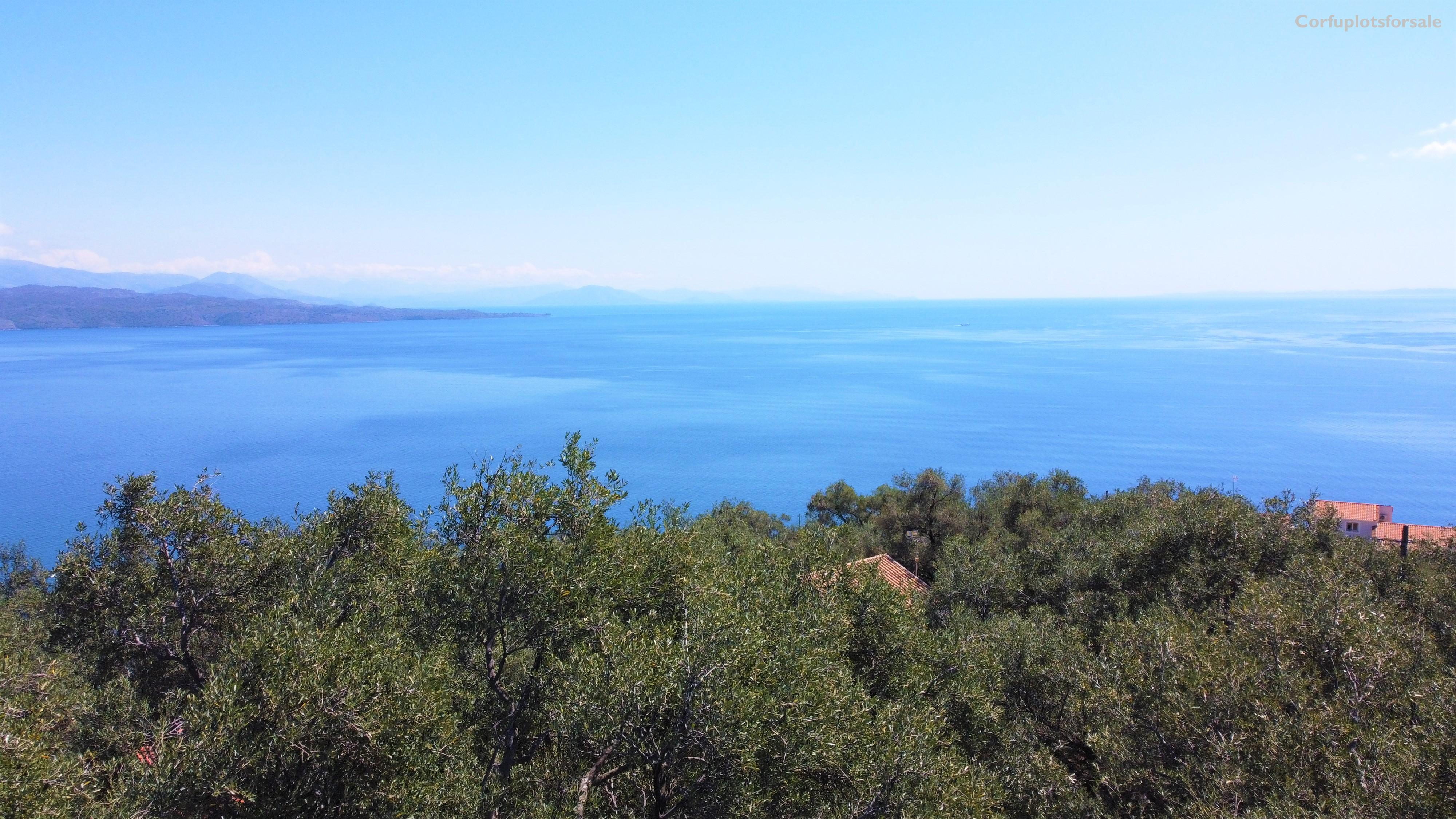 Wonderful plot with wonderful sea view