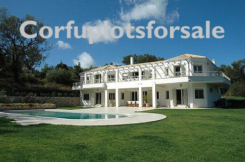 Stunning villa outside the village of Kato Korakiana  402 sq.m with pool