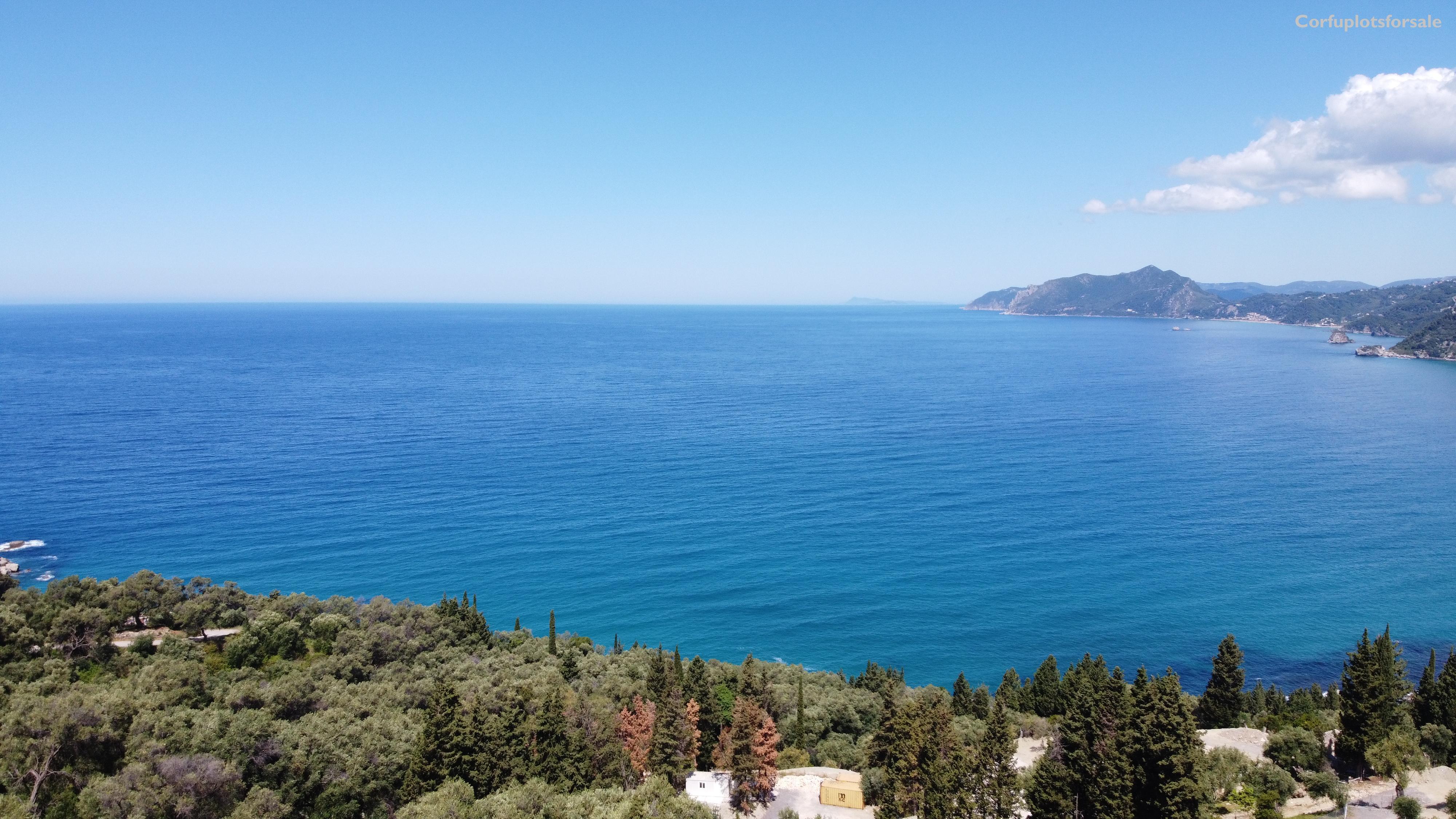 Wonderful view to Agios Gordios Golf