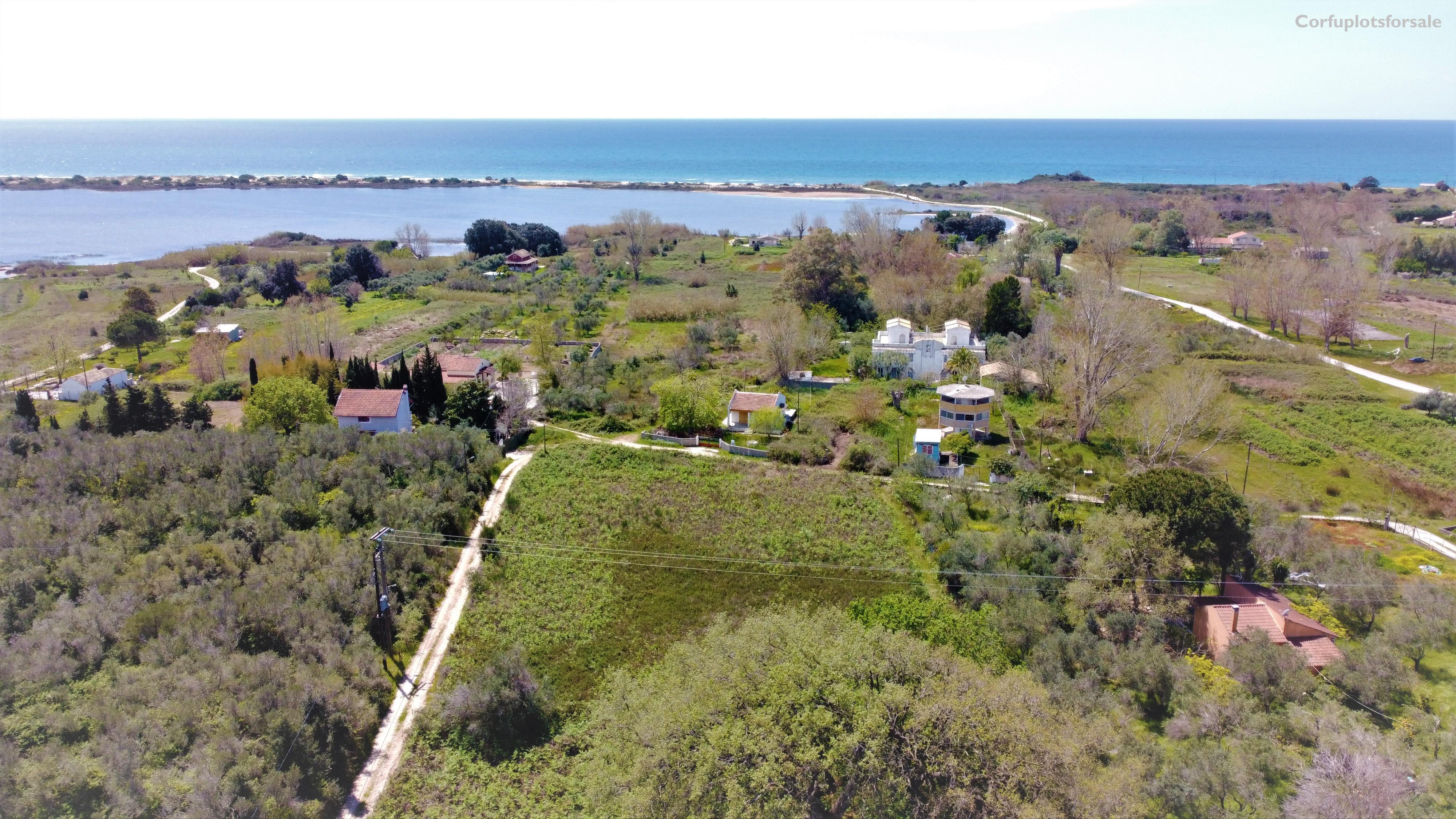 Flat piece of land close to Korission lake