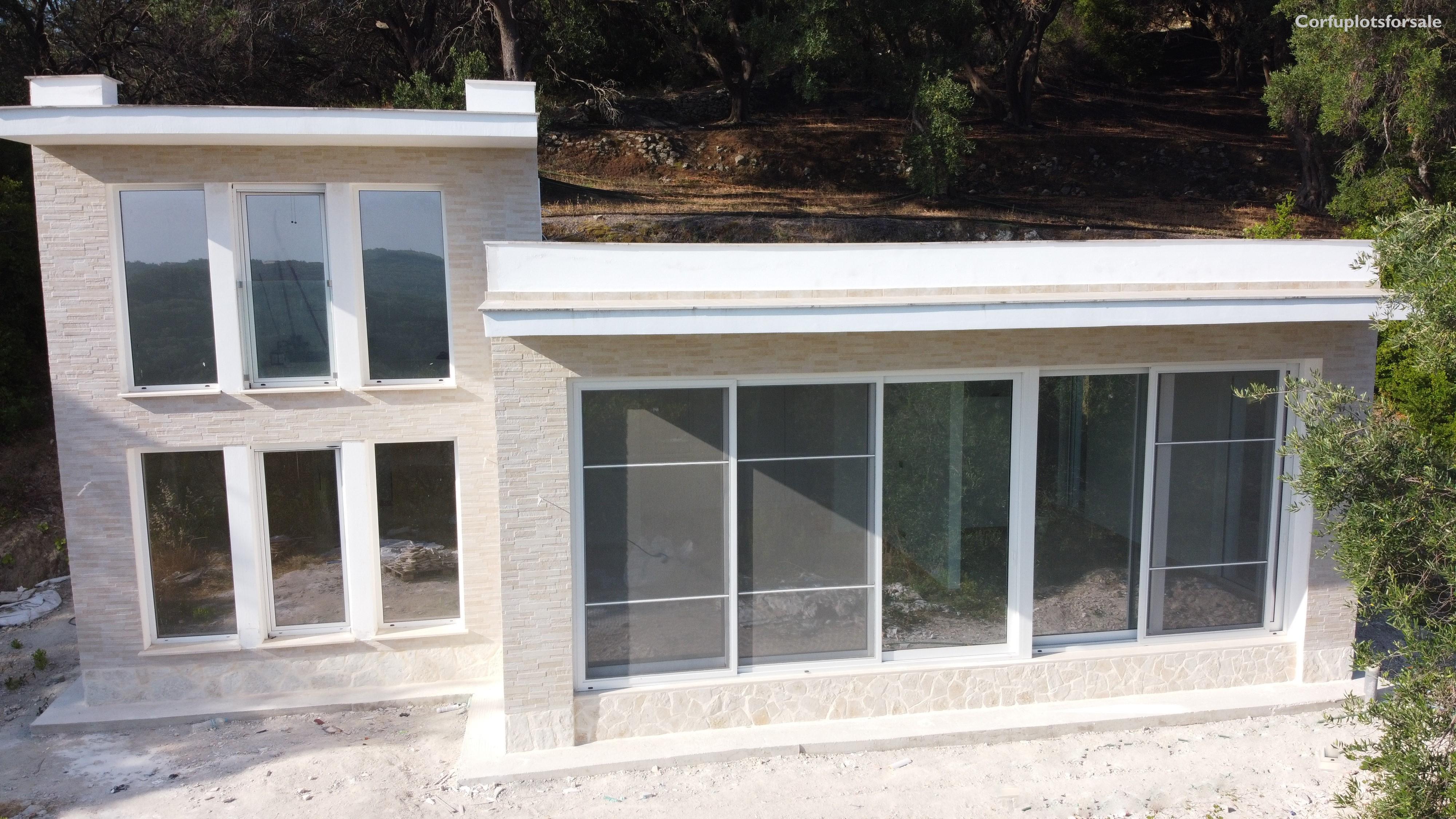 110 sq.m modern design villa under construction