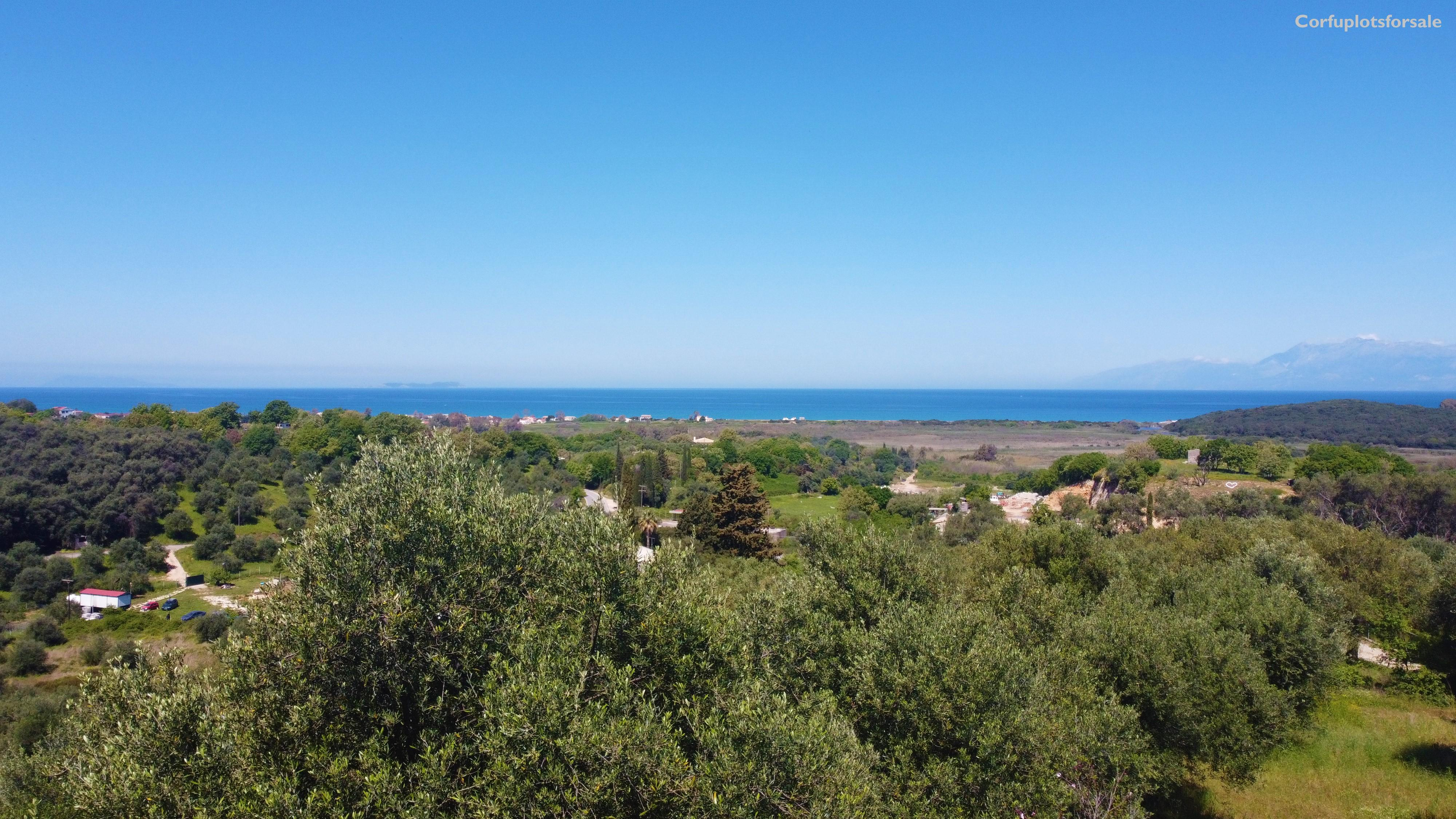 Bargain price for a land with beautiful view in secluded area