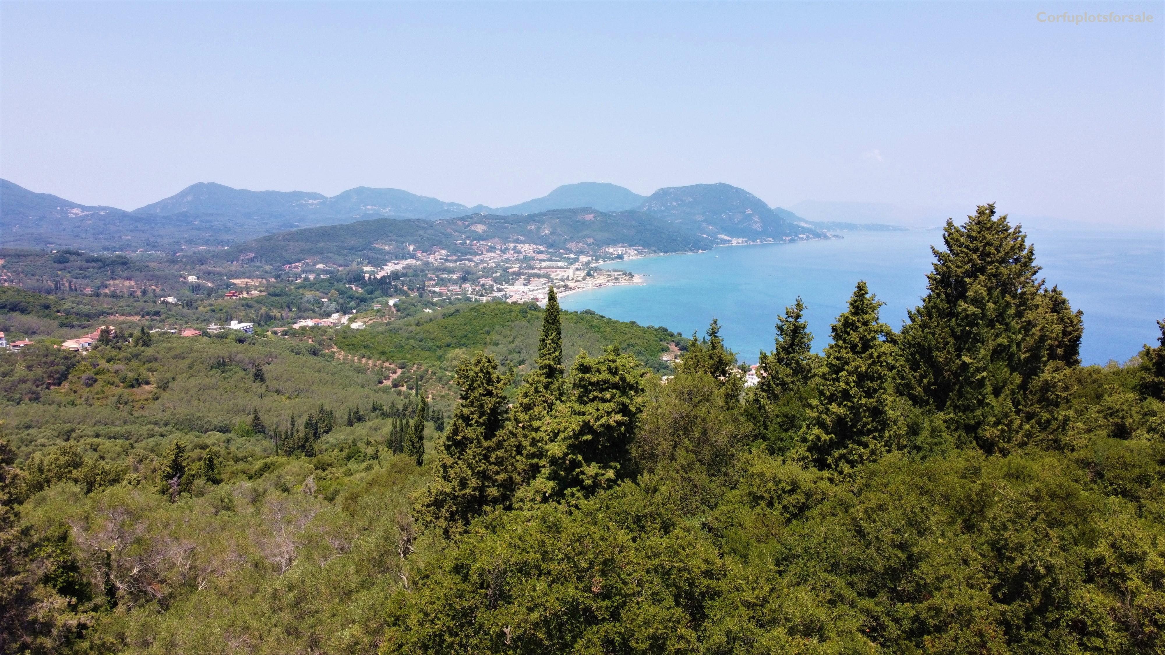 Property with wonderful view in Southeast of Corfu
