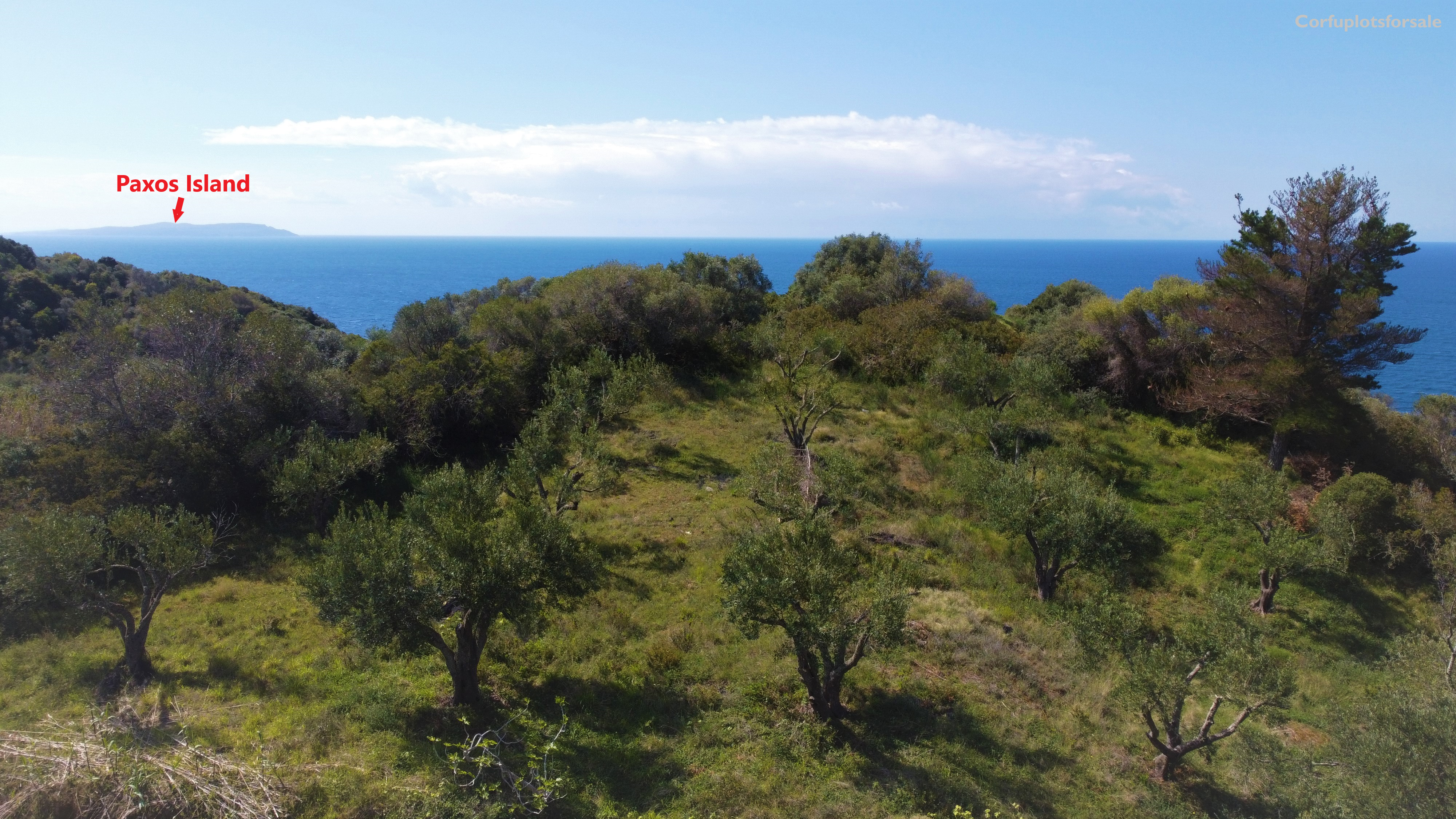 For the lovers of secluded plots with superb view near to the beach